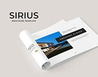 Sirius Brochure Template