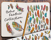 Boho Feathers Collection