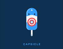 Marvel Captain America: Capsicle