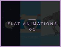 Flat Design: Animations 01