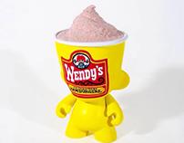 Mr. Frosty mini munny