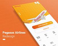 Pegasus Airlines - Redesign