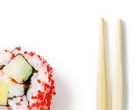 Sushi Dreams Logo Design Concept