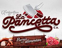 Frigorífico la Pancetta Logo Design - 2017