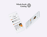 Whole Earth Catalog: IOS-app