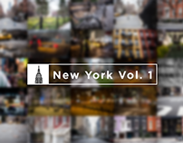 New York Vol. 1