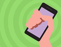 Investor Mobile Illustrations