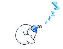 Loader Animation(sleeping bear)