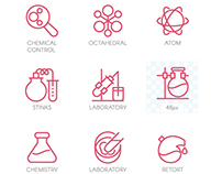 Free chemistry icon (video process)