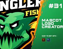 ANGLER FISH - ESports Logo Creator