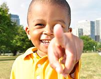 Little Boy In Yellow
