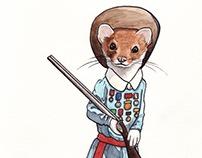 Annie Oakley Black Tail Weasel