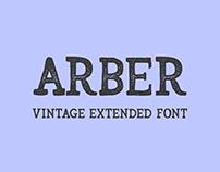 Arber Vintege Extended Font - Typeface