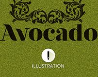 Ilustração: Avocado (projeto pessoal)