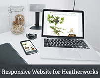 New Responsive Website for Heatherworks