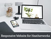 New Responsive Website for Heatherworks