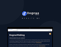 Website UI Design - DograsWeblog