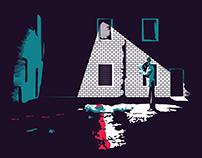 Minimal Negative Space Illustrations