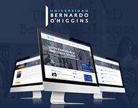Redesign Web - Universidad Bernardo O'Higgins
