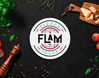 Flam Pizzas Truck - Identidade Visual