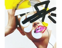 Fashion Collage Illustrations