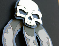 Dark Mark handcut papercraft