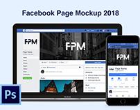 Facebook Page Mockup 2018