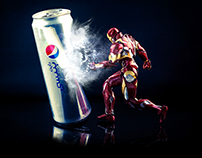The Ironman - Action figure photography