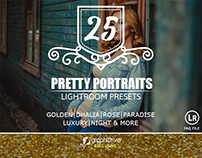 Pretty portraits presets for lightroom
