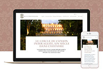 Le Cercle - Website