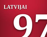 Latvijai 97