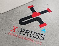 X-Press Drain Cleaning Logo