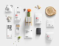Branding Presentation Kit: Packs Mockups