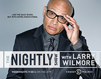 "Comedy Central's ""The Nightly Show with Larry Wilmore"""