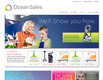 Ocean Sales Wireframes