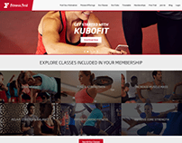 Fitness First Gym Website