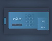 E.V. Charging Unit | Form and Interface Design