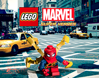 Fan Made: Lego Iron Spider Poster