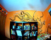 Octopus in my room