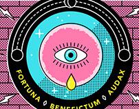 Fortuna Benefictum Audax - Poster