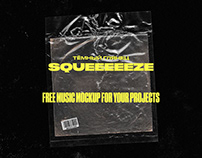 Free music MockUp for your projects / Cover MockUp