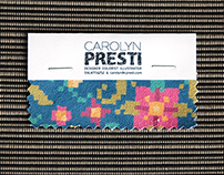 Textile Design, Business Card
