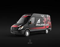Rollerblade Van Wrap Design