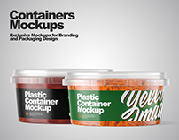 Containers Mockups