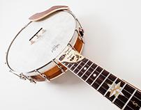 Custom Bootlegger Expeditionary banjo