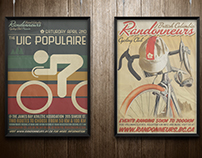 Poster Designs: BC Randonnneurs Cycling Club