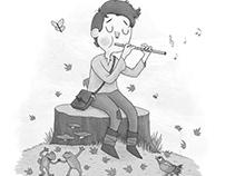 Woodland Fairy Tale Illustration