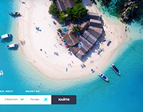 FlyNow Landing Page