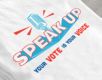 Speak Up. Vote.