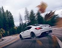 Hyundai Genesis Photography + BTS / Post Process
